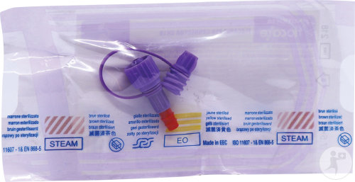 Nutricia Flocare PEG Connector Ch Rood 18 Stuks