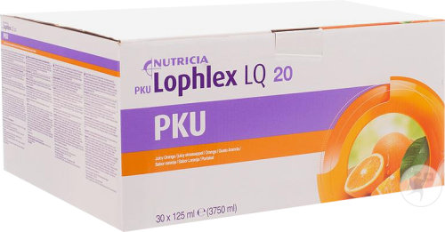 Nutricia PKU Lophlex LQ 20 Juicy Sinaasappel 30x125ml