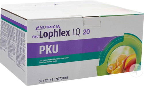 Nutricia PKU Lophlex LQ 20 Juicy Tropical 30x125ml