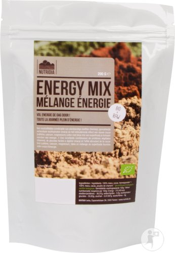 Nutridia Energy Mix Bio & Raw 200g