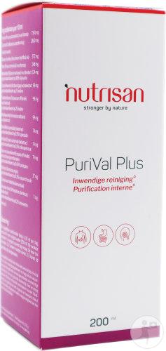 Nutrisan PuriVal Plus Siroop Fles 200ml
