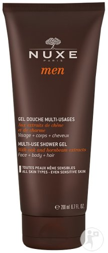 Nuxe Men Multifunctionele Douchegel Gelaat Lichaam En Haar Alle Huidtypes 200ml
