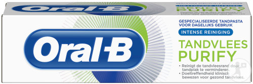 Oral-B Tandpasta Tandvlees Purify Intense Reiniging 50ml