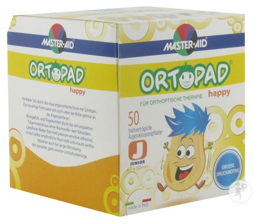 Ortopad Happy Junior Oogpleister 50 (70131)