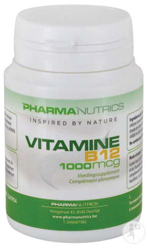 Pharmanutrics Vitamine B12 Pot Tabletten 60