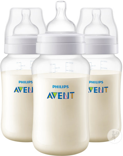 Philips Avent Anti-Colic zuigfles 330ml TRIO - SCF816/37 (6m+) - 3x