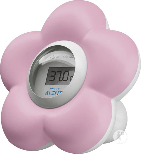 Philips Avent Digitale Badthermometer Roze - SCH550/21
