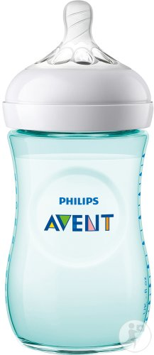 Philips Avent Natural Zuigfles 260ml Groen - SCF033/15 (1m+) - 1x