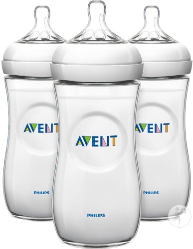 Philips Avent Natural Zuigfles 330ml TRIO - SCF036/37 (6m+) - 3x
