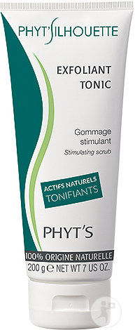 Phyt's Phyt'Silhouette Exfoliant Tonic Stimulerende Scrub Lichaam Alle Huidtypes Tube 200g