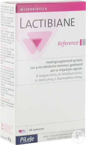 PiLeJe Lactibiane Reference 30 Capsules