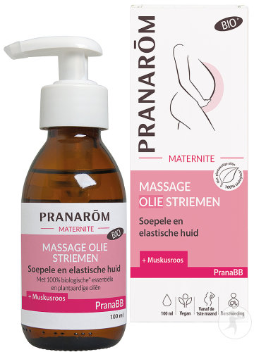 Pranarôm Massage Olie Striemen Bio 100ml