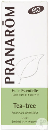 Pranarôm Tea-Tree Essentiële Olie Bio 10ml
