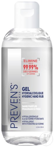 Preven's Handgel Hydro Alcohol Fl 100ml
