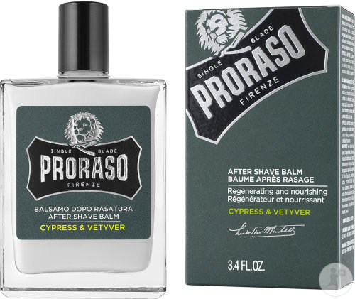 Proraso Cypress And Vetyver Aftershave Balsem Fles 100ml
