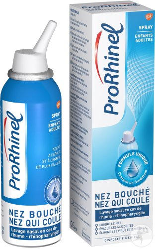 ProRhinel Spray Nasal Enfants-Adultes 100ml