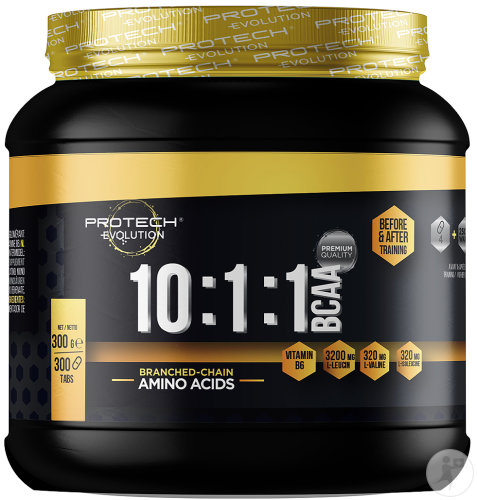 Protech Evolution BCAA 10:1:1 Aminozuren 300 Tabletten