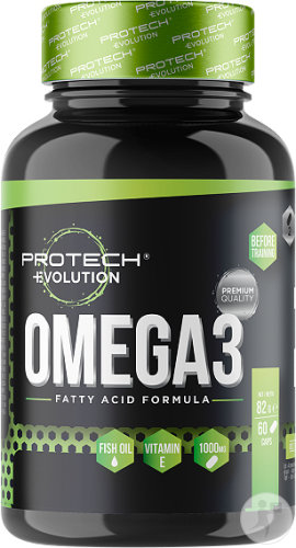 Protech Evolution Omega 3 1000mg Capsules 60