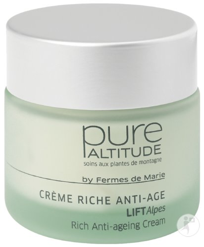 Pure Altitude LiftAlpes Rijke Anti-Veroudering Crème Pot 50ml