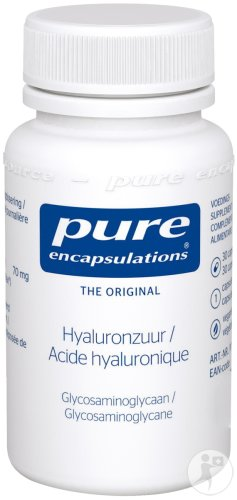Pure Encapsulations Hyaluronzuur Glycosaminoglycaan 30 Capsules
