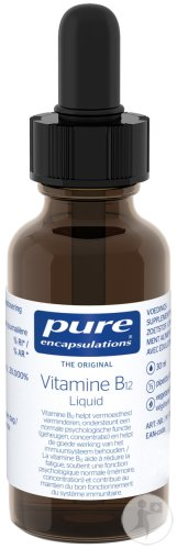 Pure Encapsulations Vitamine B12 Liquid 30ml