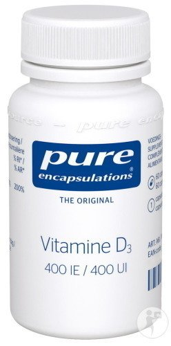 Pure Encapsulations Vitamine D3 400IE 60 Capsules