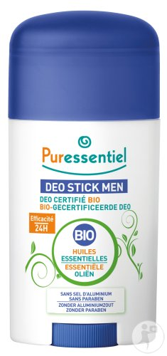 Puressentiel Deo Stick Men Bio-Gecertificeerd 50ml