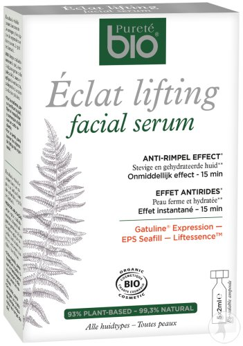 Pureté Bio Eclat Lifting Facial Serum Ampullen 5x2ml