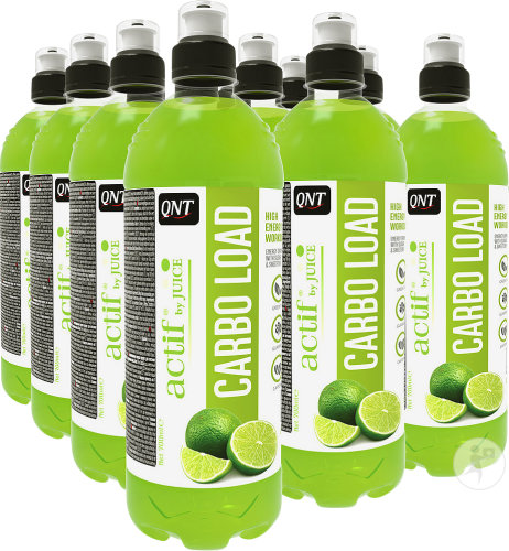 QNT Carbo Load With Juice Citroen-Lime 12x 700ml