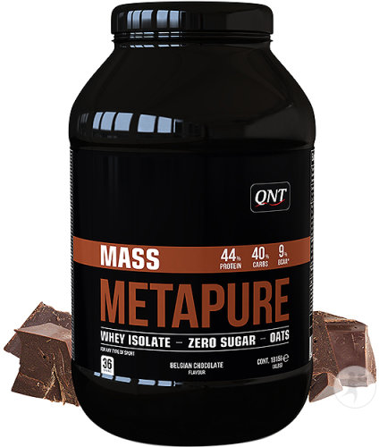 QNT Metapure Mass Whey Protein Isolate Chocolade Pot 1815g