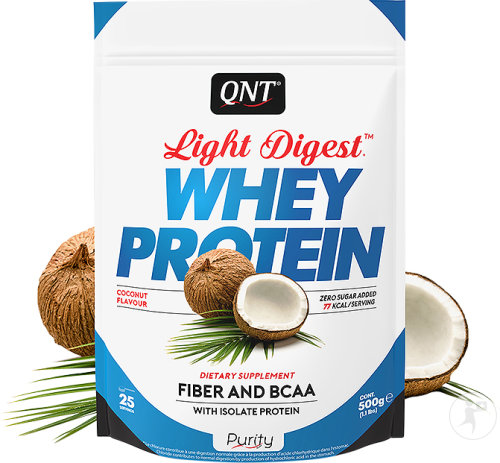 QNT Purity Light Digest Whey Protein Kokosnoot 500g