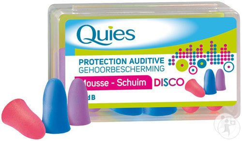 Quies Oordoppen Mousse Disco 3 Paren