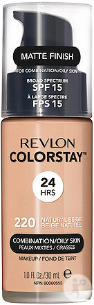 Revlon Colorstay Combination Oily Foundation Natural Beige N°220 30ml