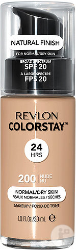 Revlon Colorstay Normal Dry Foundation Nude N°200 30ml