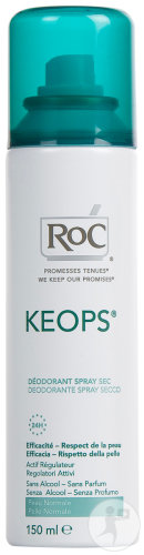 RoC Keops Droge Deodorant Spray Zonder Alcohol 150ml