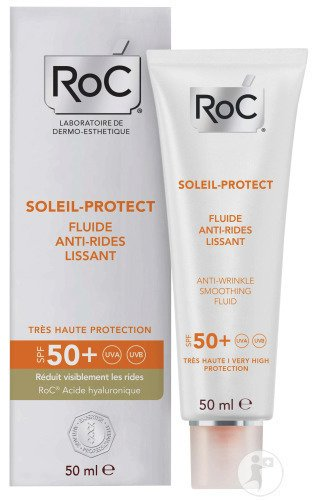 RoC Soleil-Protect Egaliserende Antirimpel Fluid SPF50+ Tube 50ml
