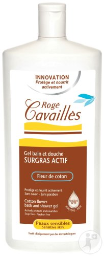 Rogé Cavaillès Overvette Gel Bad En Douche Katoenbloem 750ml