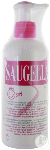 Saugella Girl Emulsie Pompfles 200ml