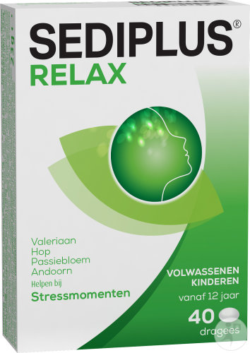 Sediplus Relax 40 Dragees