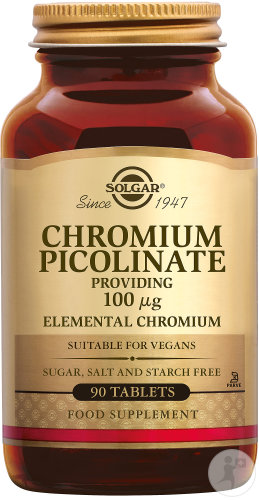 Solgar Chromium Picolinate 100µg Tabletten 90
