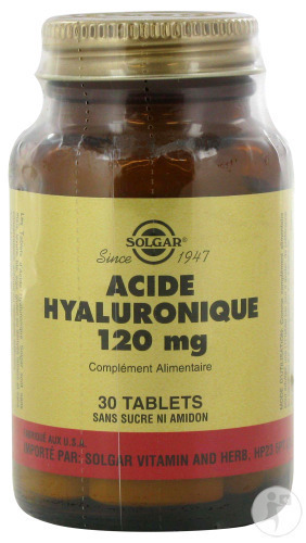Solgar Specialité Hyaluronic Acid 120mg Capsules 30