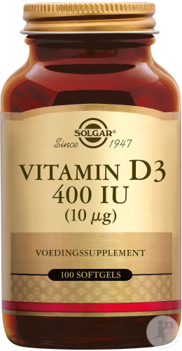 Solgar Vitamin D3 400IU/10µg Softgels 100