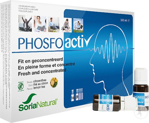 Soria Natural Phosfoactiv Vials 20x15ml (6106)