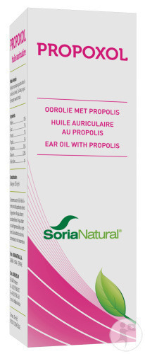 Soria Natural Propoxol Oorolie 30ml (4502)