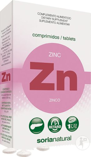 Soria Natural Zink Retard 48 Tabletten
