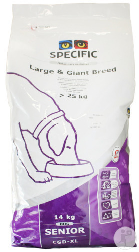 Specific CGD-XL Large And Giant Breed Senior Hond 14kg