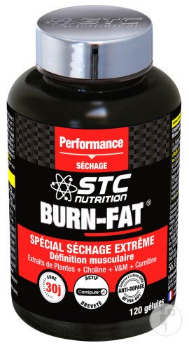 STC Nutrition Burn Fat Nieuwe Formule 120 Capsules