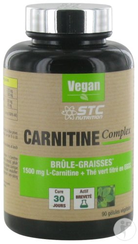 STC Nutrition Carnitine Complex 90 Capsules