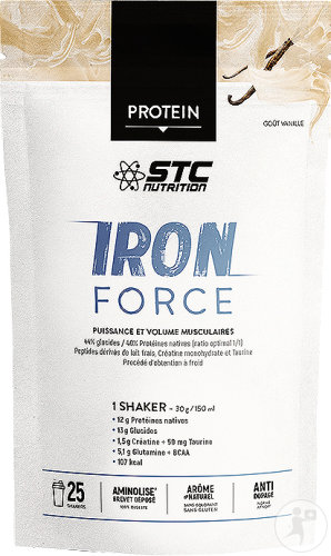 STC Nutrition Iron Force Vanille 750g