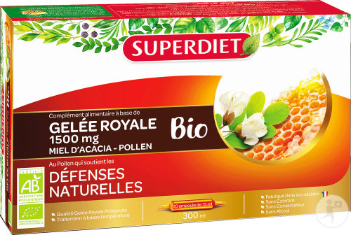 Super Diet Koninginnebrij Bio Ampullen 20x15ml